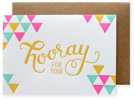 Design Studio Parrott Hooray Cards