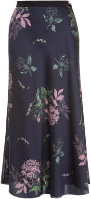 Lake Studio M'O Exclusive Floral Midi Skirt