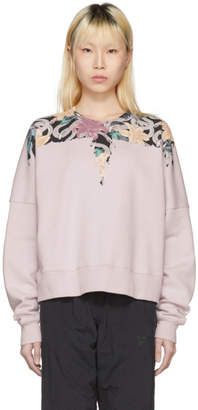 Marcelo Burlon County of Milan Pink Flower Wings Sweatshirt