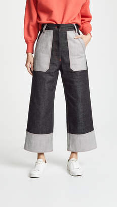 Lee Mathews Japanese Denim Culotte Jeans