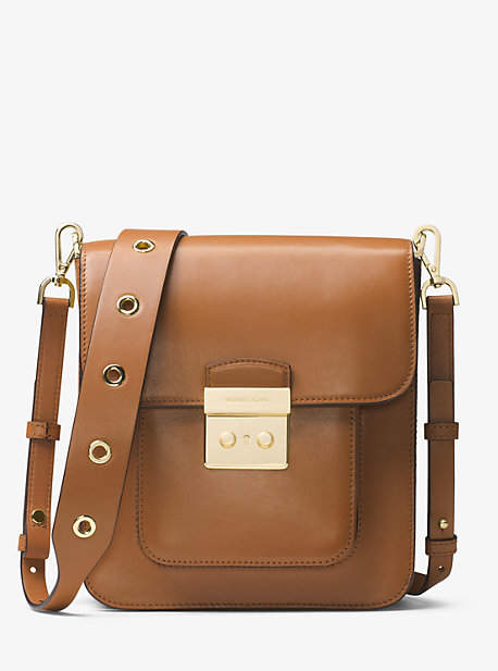 Michael Kors Sloan Editor Leather Messenger