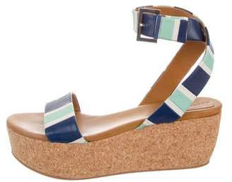 See by Chloe Leather Platform Sandals