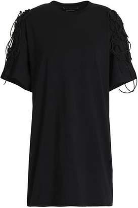 Simone Rocha Lace-Up Cotton-Jersey T-Shirt