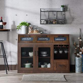Furniture of America Michigan Industrial Dining Buffet, Multiple Colors