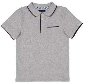 Andy & Evan Little Boy's Contrast Piped Polo