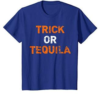 """Trick Or Tequila"" Funny Drinking Halloween T-Shirt"