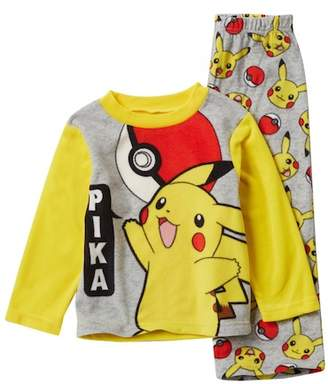 Pokemon AME Pika Fleece Pajama Set (Little Boys & Big Boys)