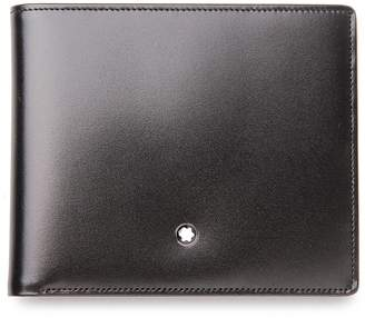 Montblanc Mont Blanc Meisterstuck 14CC Black Leather Mens Wallet 14095