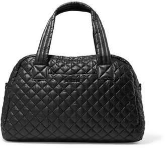 MZ Wallace Jimmy Quilted Shell Tote - Black