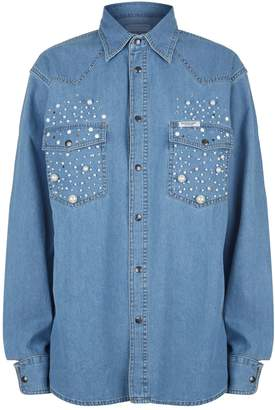 Couture Forte Pearl Denim Shirt