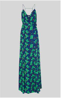 Whistles Noa Graphic Clover Maxi Dress