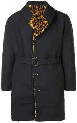 Engineered Garments reversible shawl collar coat