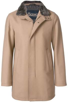 Herno high neck coat