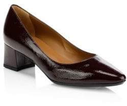 Aquatalia Pasha Point Toe Patent Leather Pumps
