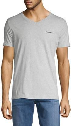 Diesel Jake Melange V-neck T-Shirt