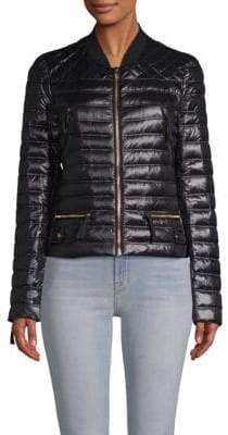A.P.C. Ferragamo Outerwear Quilted Down Jacket