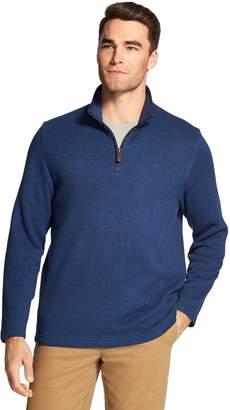 Izod Men's Classic-Fit Fleece Quarter-Zip Pullover