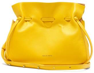 Mansur Gavriel Mini Protea Leather Bag - Womens - Yellow Multi