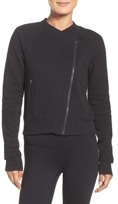 Women's Zella Asymmetrical Training Jacket $99 thestylecure.com