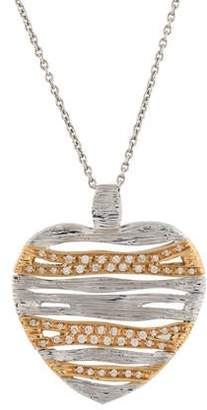 Roberto Coin 18K Diamond Elefantino Flex Pendant Necklace