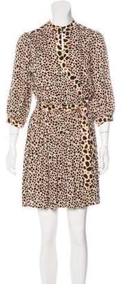 Diane von Furstenberg Abel Silk Dress