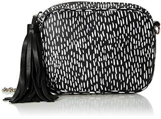 Lauren Merkin Meg Dash Print Cross-Body Evening Bag