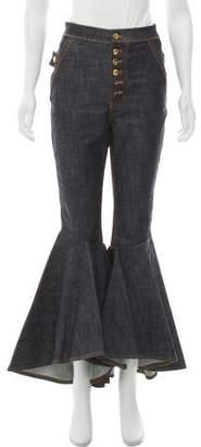 Ellery High-Rise Ophelia Wide-Leg Pant