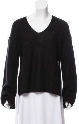 Rebecca Minkoff Long Sleeve V-Neck Sweater