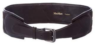 Max Mara Leather Waist Belt Leather Waist Belt