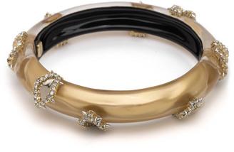 Alexis Bittar Crystal Studded Hinge Bracelet