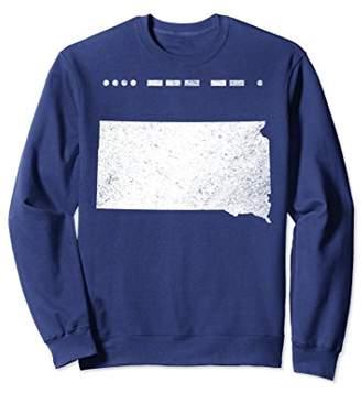 Dakota Morse Code South Home Sweatshirt