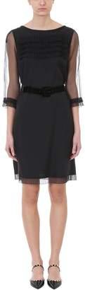 Marc Jacobs Sleeve Ruffled Sheath Dress
