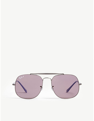 Ray-Ban The General RB3561 pilot-frame sunglasses