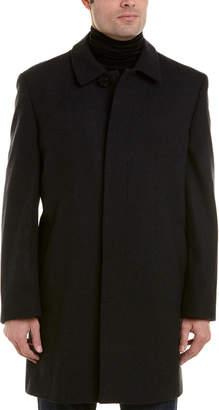 Hart Schaffner Marx Topper Wool-Blend Jacket