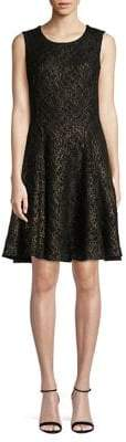 Tommy Hilfiger Lace Sleeveless Fit-&-Flare Dress