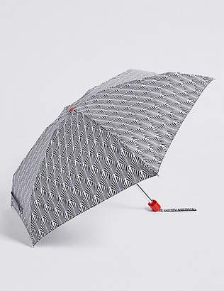 M&S Collection Printed Compact Umbrella with StormwearTM