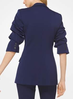 Michael Kors Stretch Wool-Gabardine Blazer