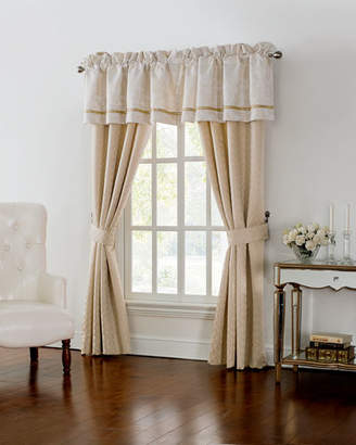 "Waterford Two Britt Foulard Curtains, 84""L"