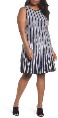 Nic+Zoe Triangle Twirl Dress