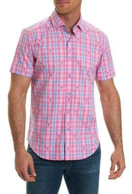 Robert Graham Tartan Short-Sleeve Shirt