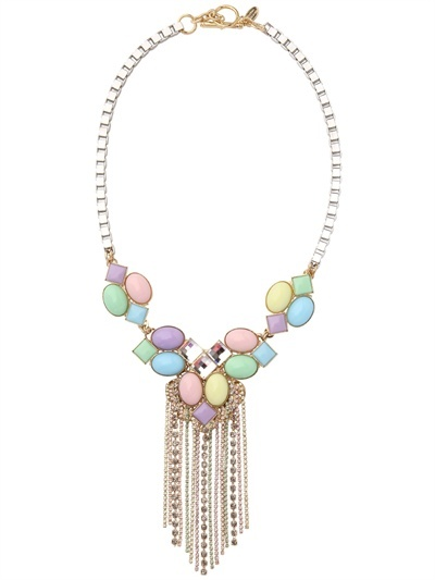 Anton Heunis Candy Store Collection Chains Necklace