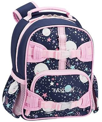 Pottery Barn Kids Mackenzie Pink Navy Glow In The Dark Moons Lunch Bags