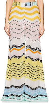 Missoni Mare Women's Wavy-Line Wide-Leg Pants