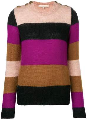 Vanessa Bruno striped colour block sweater