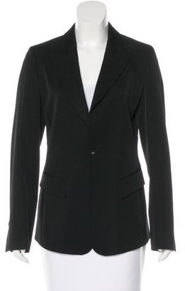 Jean Paul Gaultier Fitted Wool Blazer $125 thestylecure.com