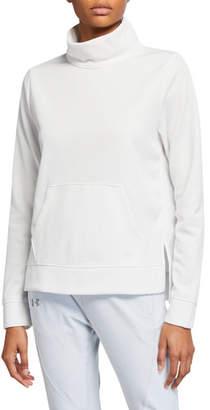 Under Armour Synthetic Fleece Mock Mirage Sweatshirt