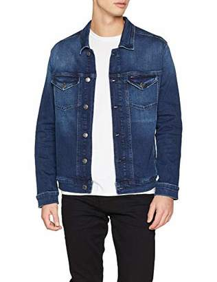 Tommy Jeans Men's Regular Trucker Denim Jacket,XX-Large
