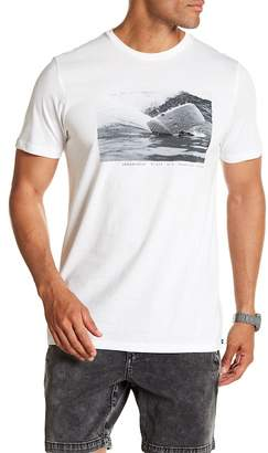 Volcom Burch Foam Short Sleeve Graphic Print Modern Fit Tee