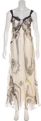Nina Ricci Sleeveless Maxi Dress