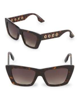 McQ Gradient 52MM Cat Eye Sunglasses